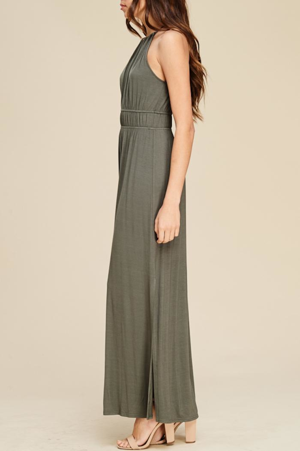 Staccato In The Moment Maxi Dress - Front Full Image