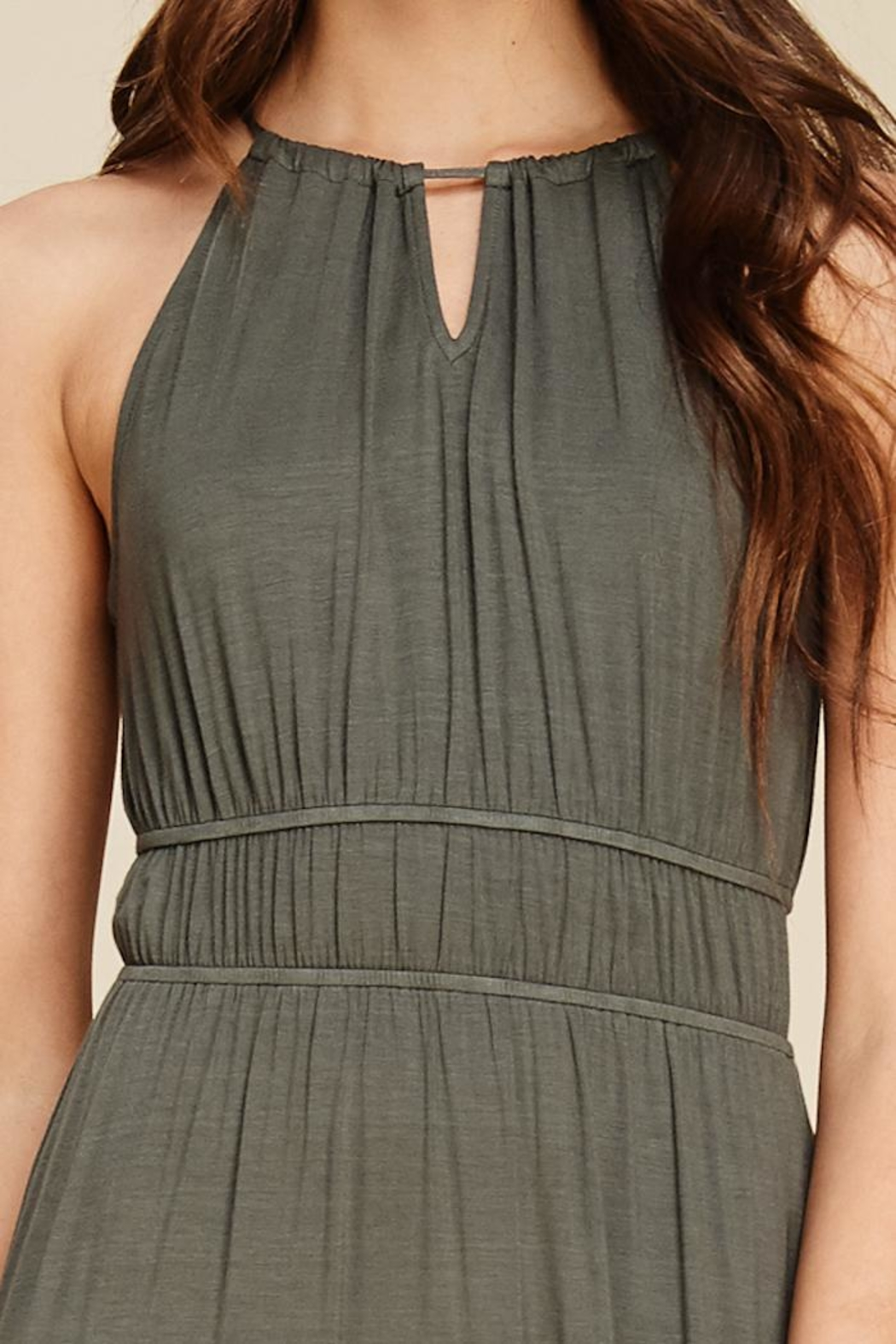 Staccato In The Moment Maxi Dress - Back Cropped Image
