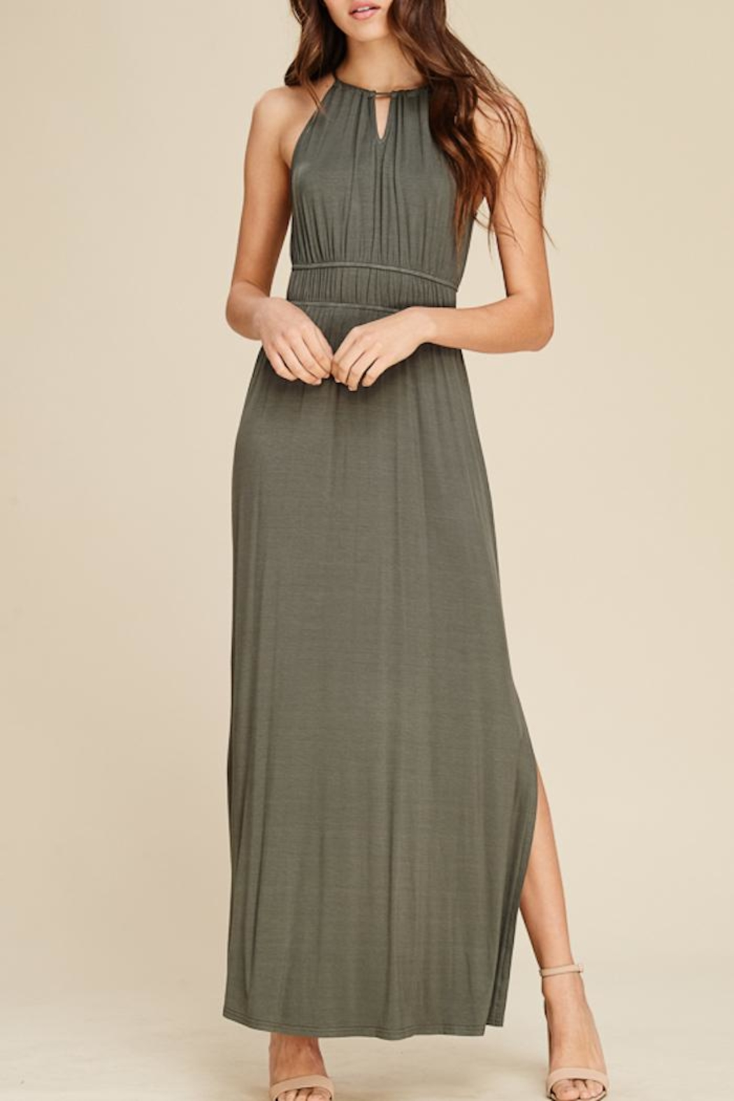 Staccato In The Moment Maxi Dress - Main Image