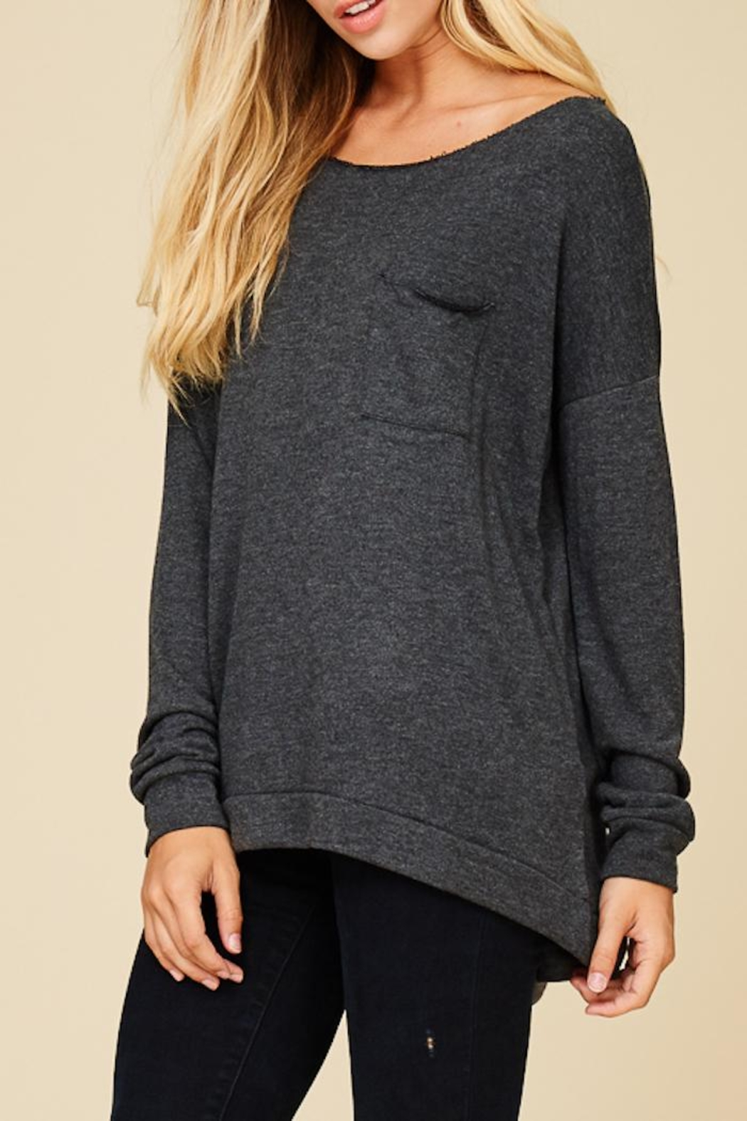 Staccato Keep It Casual Sweater - Back Cropped Image