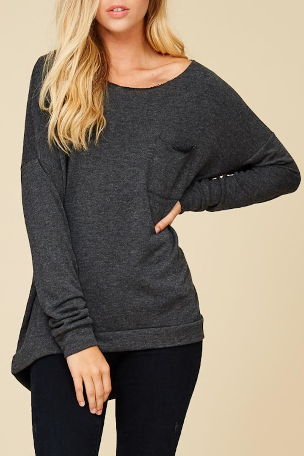 Staccato Keep It Casual Sweater - Side Cropped Image