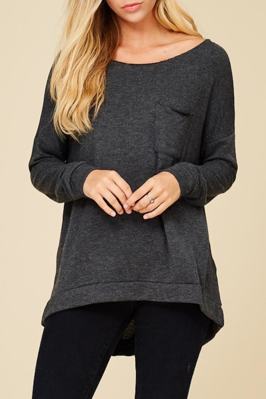 Staccato Keep It Casual Sweater - Front Full Image