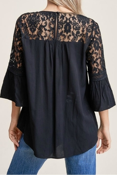 Staccato Lace Inset Top - Alternate List Image