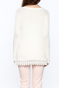 Staccato Lace Trim Tunic Top - Alternate List Image