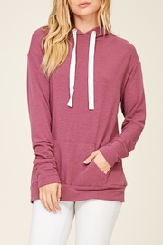 Staccato Lace Up Hoodie - Front full body