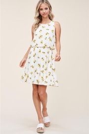 Staccato Lemon Drop Dress - Product Mini Image