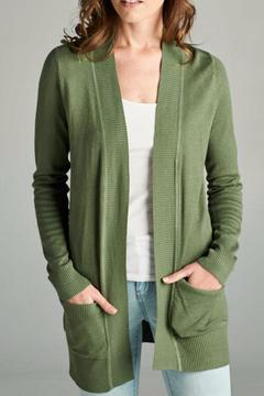 Staccato Long Sleeve Ribbed Cardigan - Product List Image