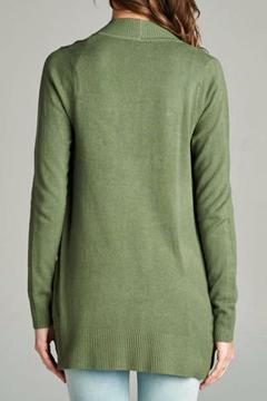 Staccato Long Sleeve Ribbed Cardigan - Alternate List Image