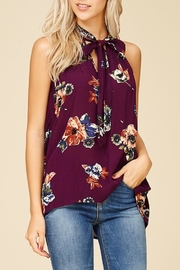 Staccato Magnolia Blooms Top - Side cropped