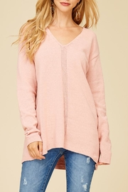 Staccato Make Me Blush Top - Front full body