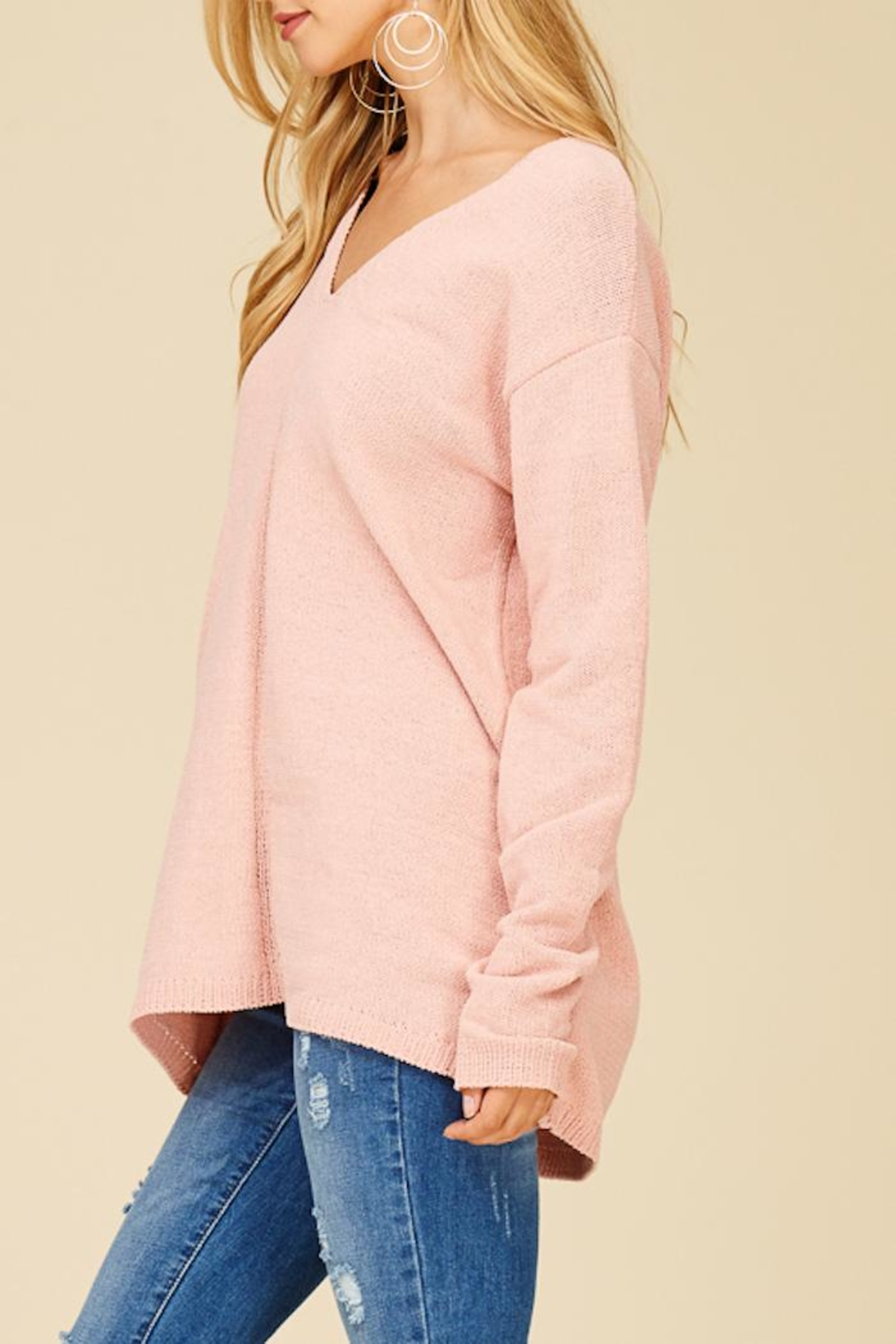 Staccato Make Me Blush Top - Side Cropped Image