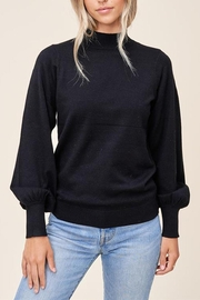 Staccato Mock Balloon-Sleeve Sweater - Front full body