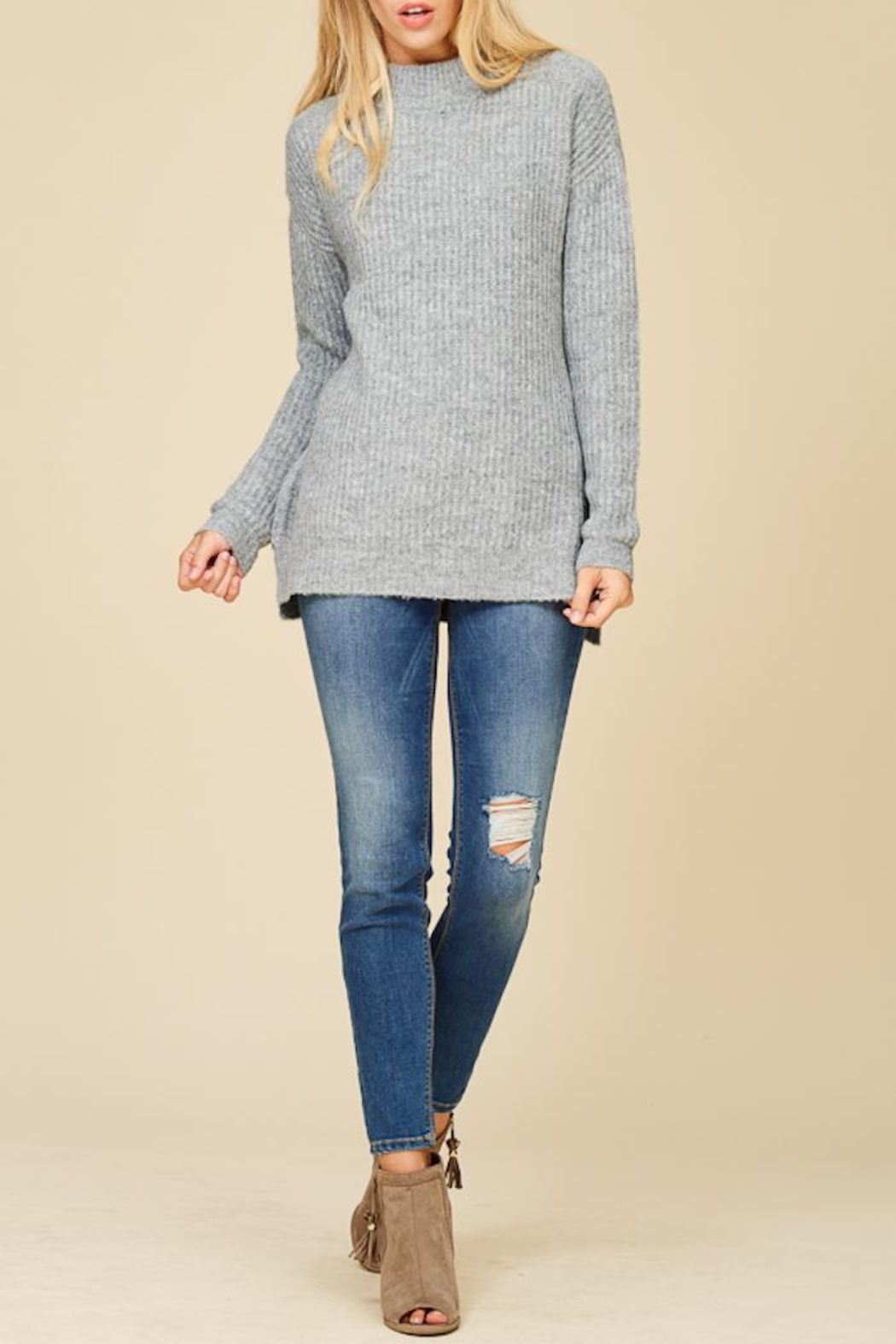 Staccato Mountain Cabin Sweater - Main Image