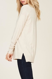 Staccato Oatmeal Sweater - Side cropped