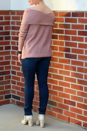 Staccato Off Shoulder Sweater - Front full body