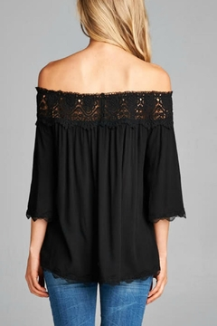 Staccato Off The Shoulder Top - Alternate List Image