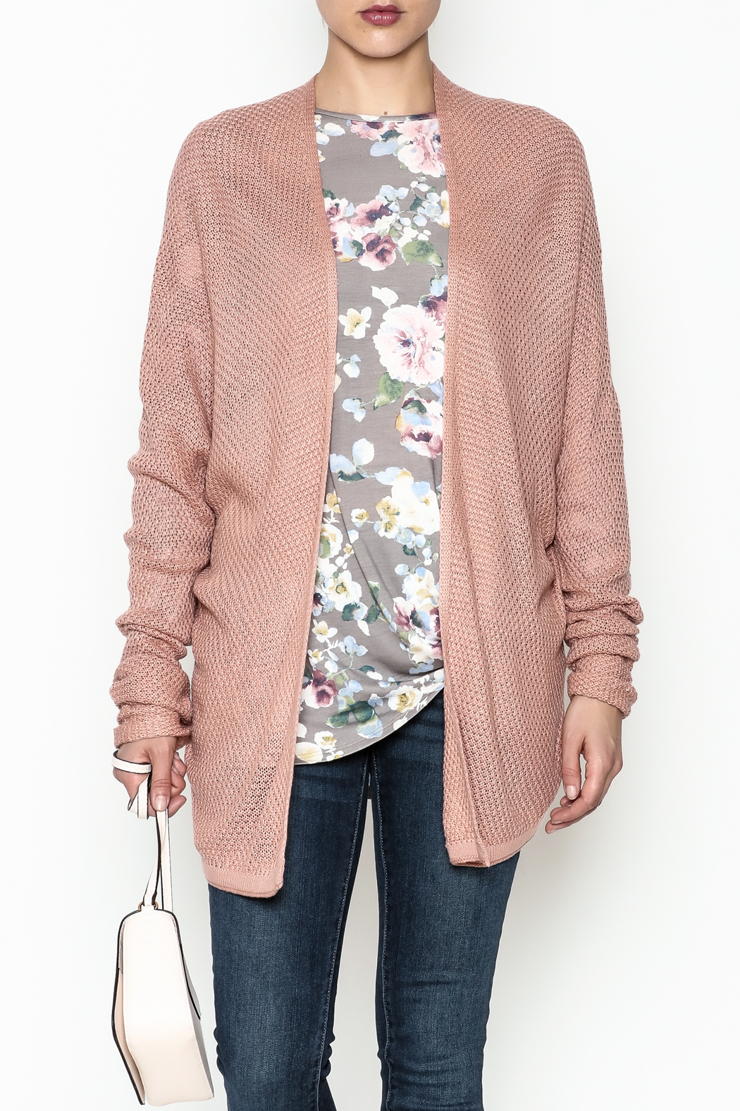 Staccato Open Front Cardigan - Main Image