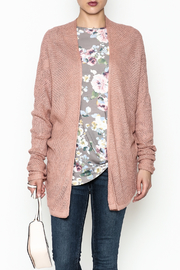 Staccato Open Front Cardigan - Front cropped