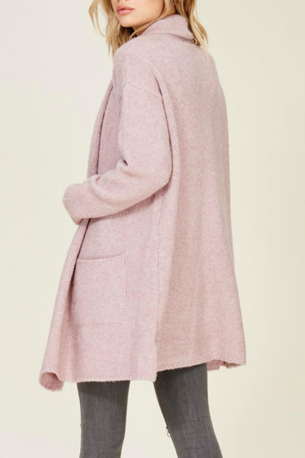Staccato Oversized Cozy Cardigan - Side Cropped Image