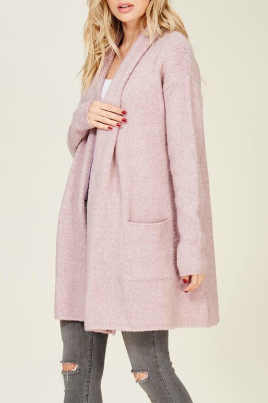 Staccato Oversized Cozy Cardigan - Front Full Image