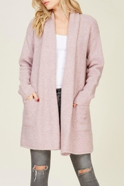 Staccato Oversized Cozy Cardigan - Front cropped