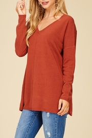 Staccato Oversized Tunic Sweater - Front full body