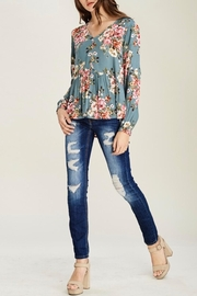 Staccato Peplum Floral Blouse - Other