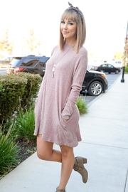 Staccato Pretty In Pink Dress - Front cropped
