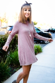 Staccato Pretty In Pink Dress - Back cropped