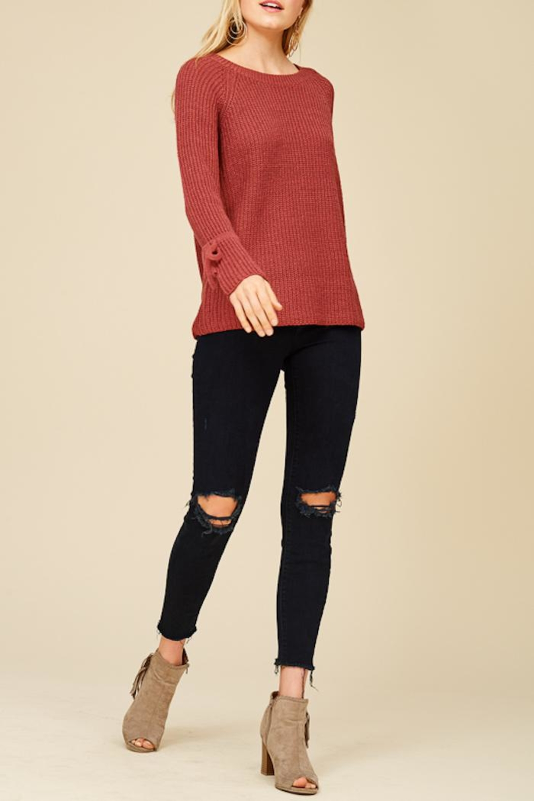 Staccato Ring The Bell Top - Front Cropped Image