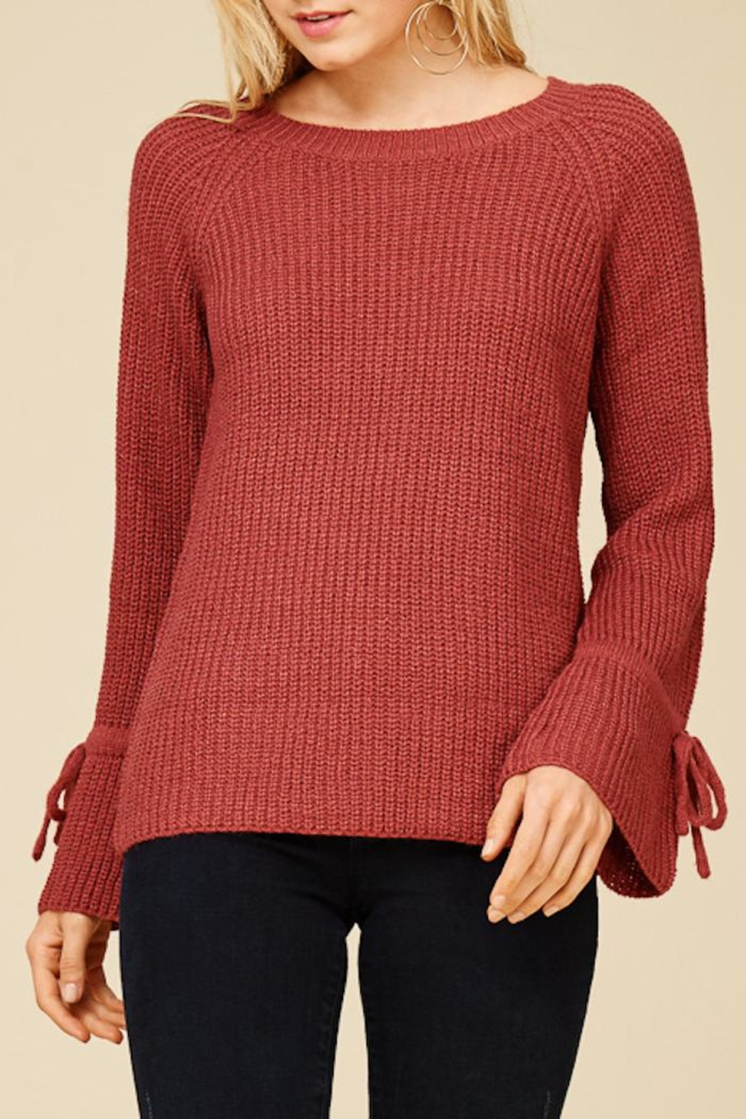 Staccato Ring The Bell Top - Back Cropped Image