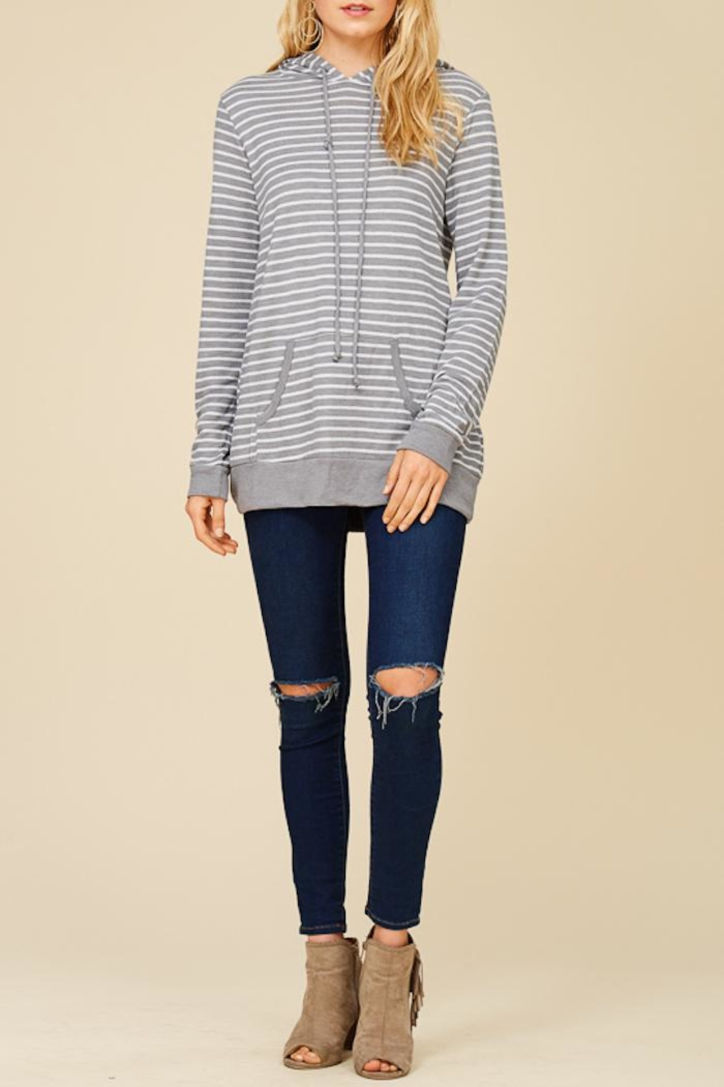 Staccato Round And Round Hoodie - Front Full Image