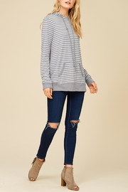 Staccato Round And Round Hoodie - Front cropped