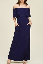 Staccato Ruffle Maxi Dress - Product Mini Image