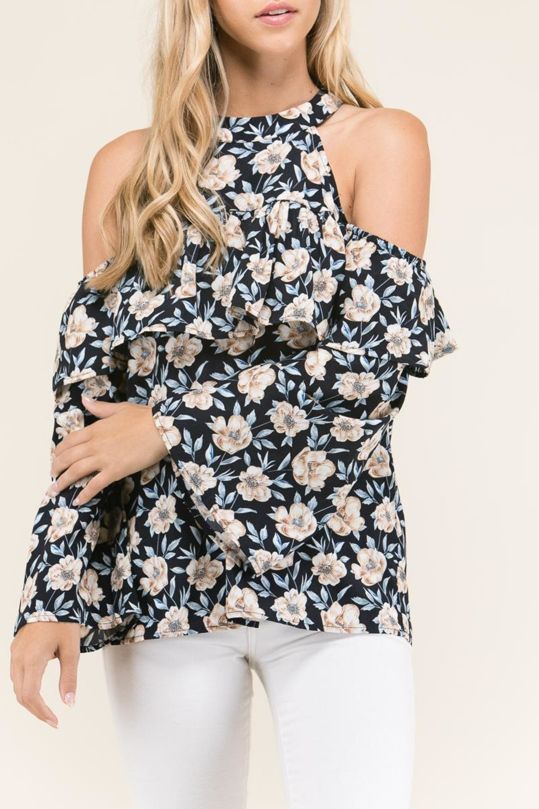 Staccato Ruffles And Flowers - Front Full Image