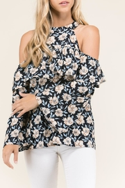 Staccato Ruffles And Flowers - Front full body