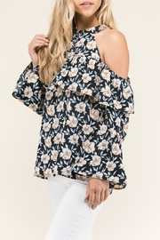 Staccato Ruffles And Flowers - Back cropped