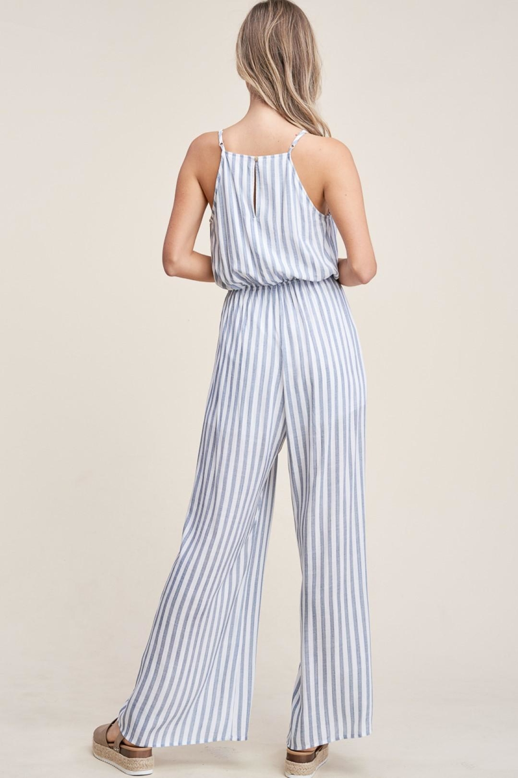 Staccato Hey Sailor  Jumpsuit - Back Cropped Image