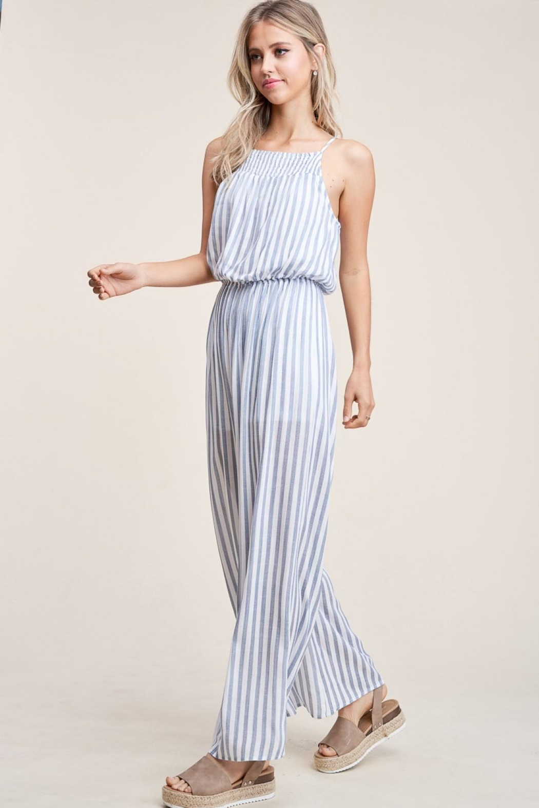Staccato Hey Sailor  Jumpsuit - Side Cropped Image