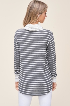 Staccato Saturday Stripes Top - Alternate List Image