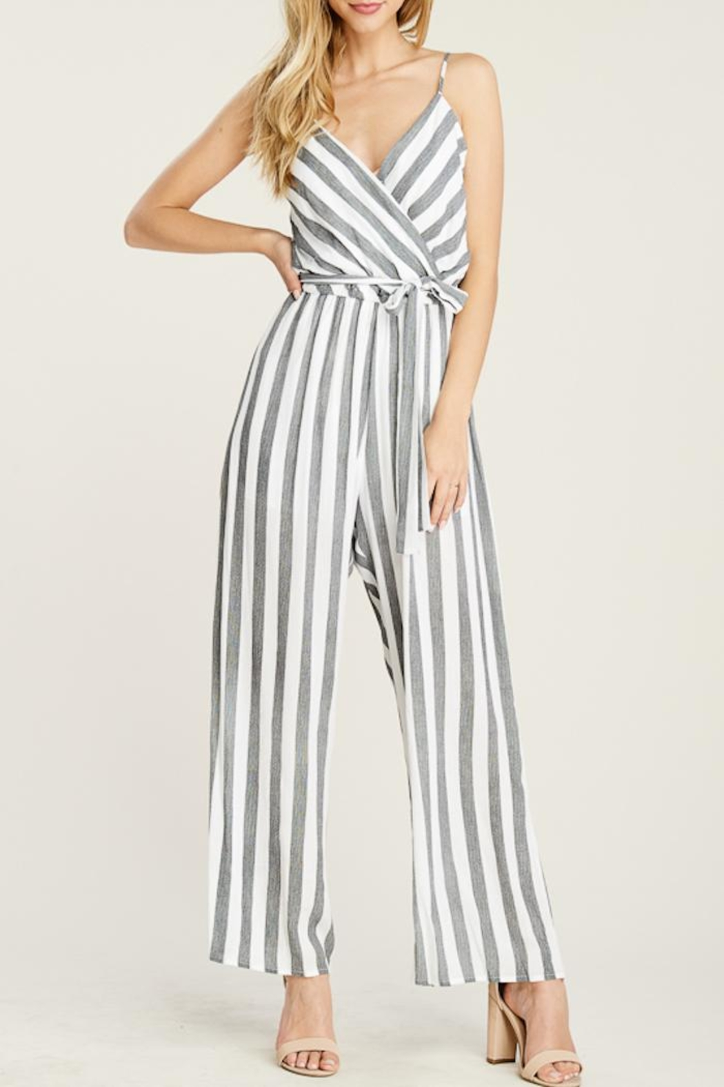 832f724c82ba Staccato Seeing Stripes Jumpsuit from Minnesota by Apricot Lane ...