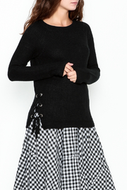 Staccato Knit Crew Sweater - Product Mini Image