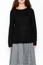 Staccato Knit Crew Sweater - Front full body