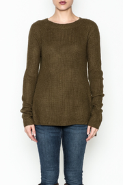 Staccato Side Lace Sweater - Front full body