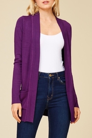 Staccato Simple Open Cardigan - Product Mini Image
