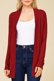 Staccato Simple Pocket Cardigan - Product Mini Image