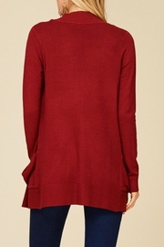 Staccato Simple Pocket Cardigan - Side cropped