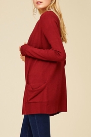 Staccato Simple Pocket Cardigan - Front full body