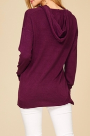 Staccato Soft Hooded Sweater - Side cropped