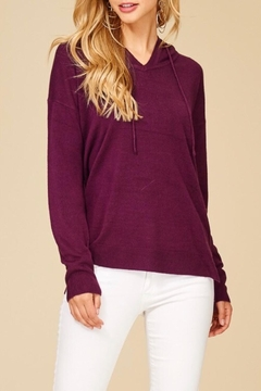 Shoptiques Product: Soft Hooded Sweater